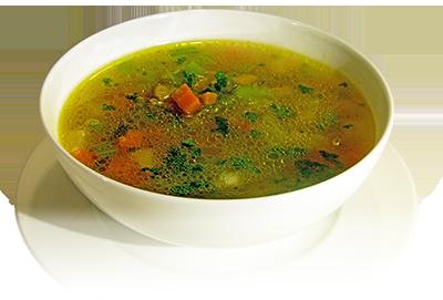 leichte Gemüsesuppe