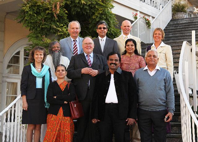 Besuch: Gesundheitsminister der indischen Regierung